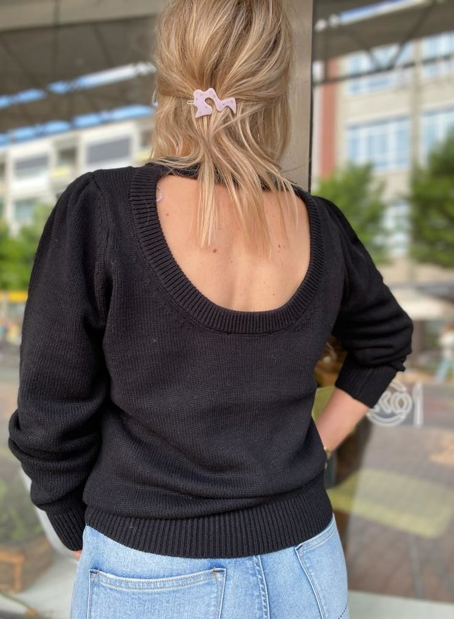 SF ava knit black