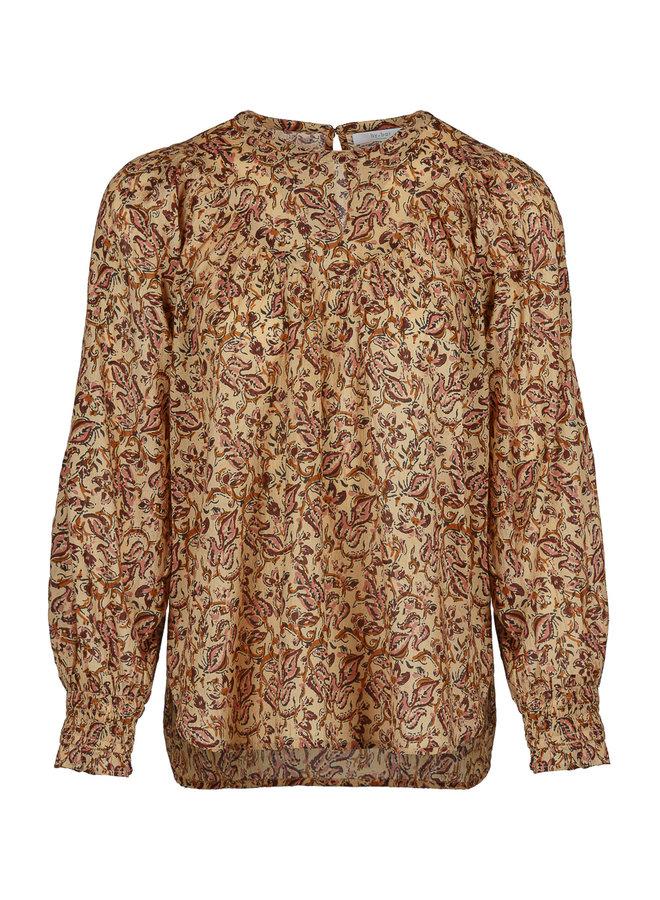 By Bar bobbie blouse print