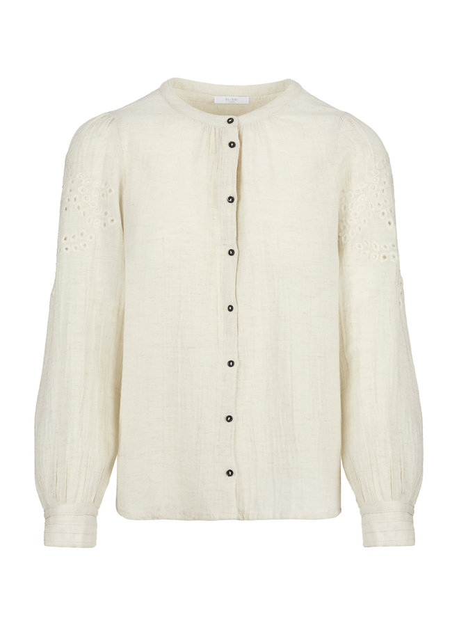 By Bar ivy blouse sand