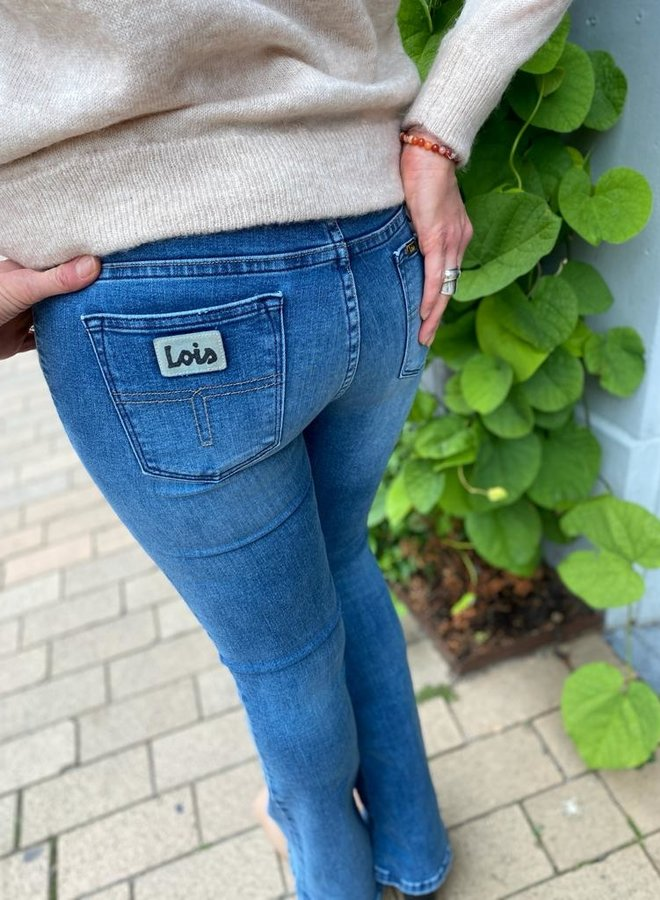 Lois raval-16 jeans cobalt stone