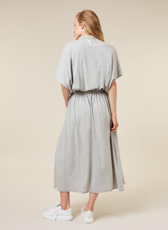 10DAYS polo dress grey
