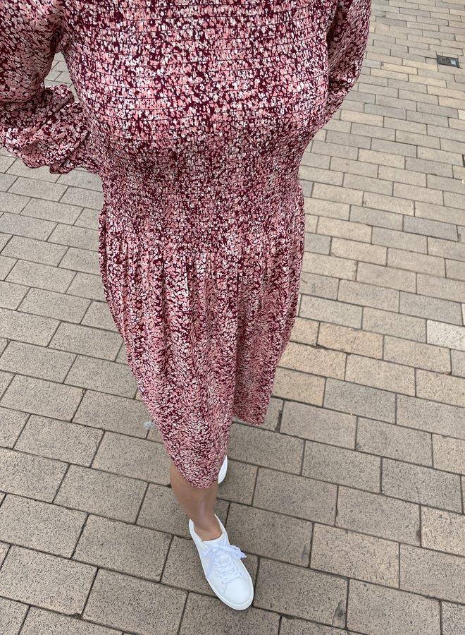Moss madelina dress print rose