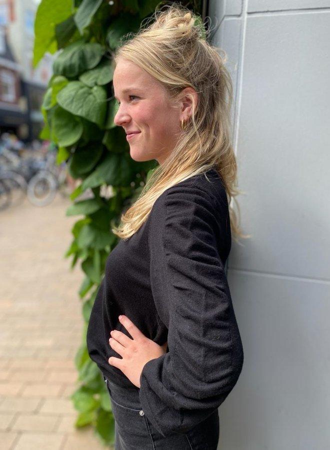 Moss rachelle pullover black