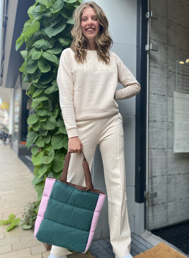 Knit-ted misty sweater ivory