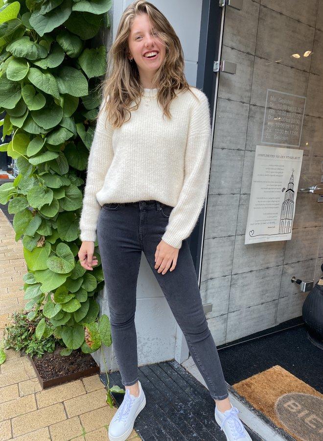 SF sophia skinny jeans dark grey