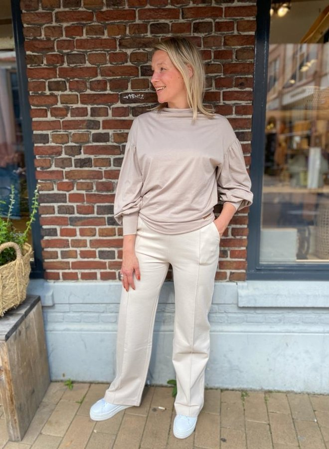 Moscow W21.73.04 blake t-shirt taupe