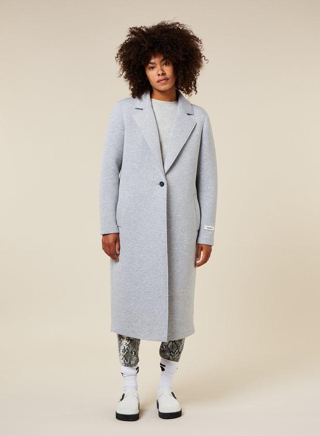 10DAYS scuba coat light grey