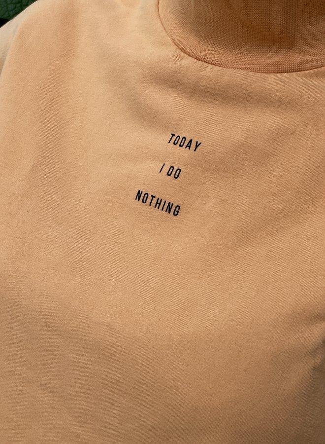 Penn&Ink W21F972 sweater print orange