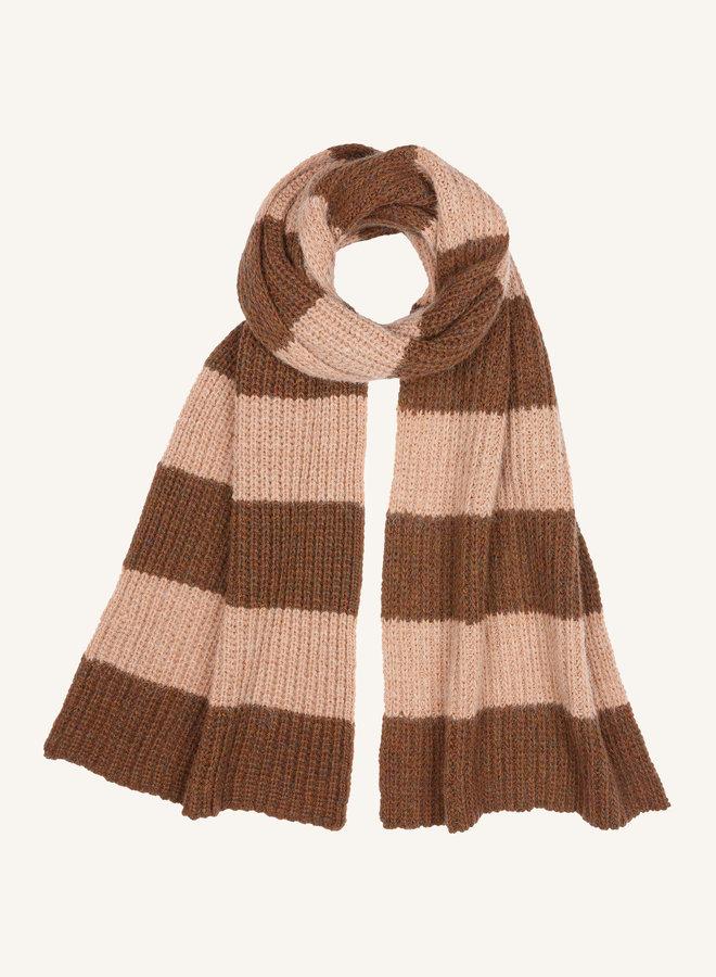 By Bar sofie scarf cognac