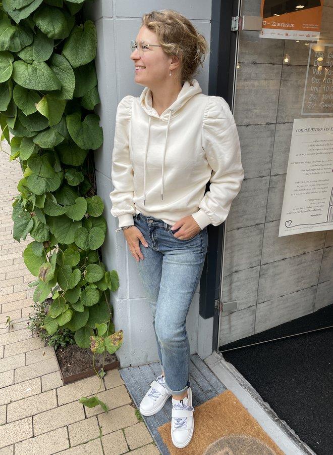 Second F. carmella hoodie white