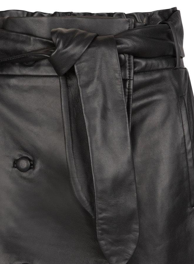Dante6 kathy leather skirt raven