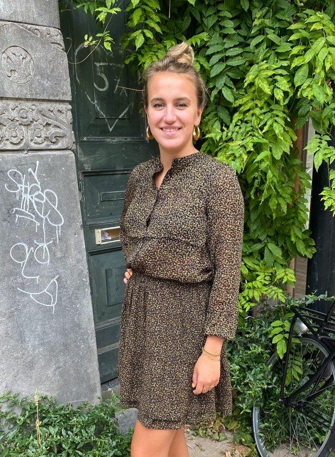 Circle skylar blouse atumn print