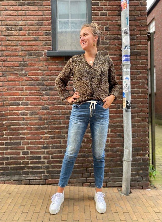 Circle amber jeans indigo