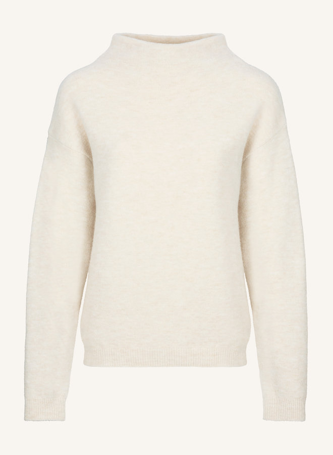 By Bar moss pullover oyster