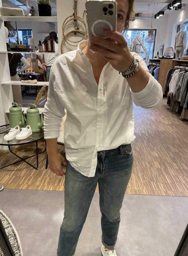 10DAYS oversized shirt white