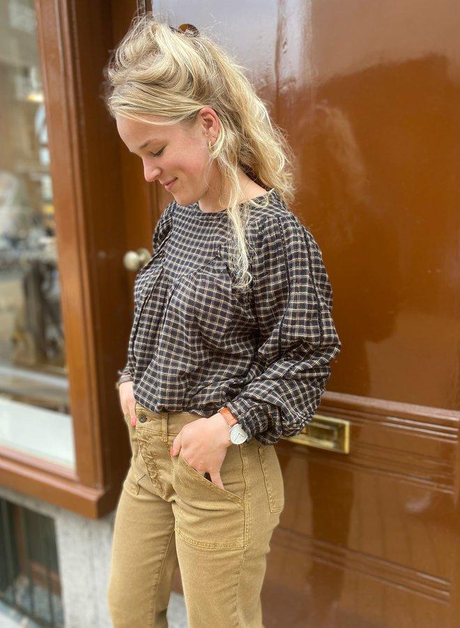 By Bar bobbie blouse black