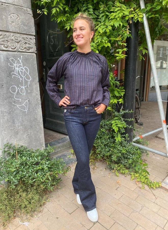 By Bar gaby blouse midnight