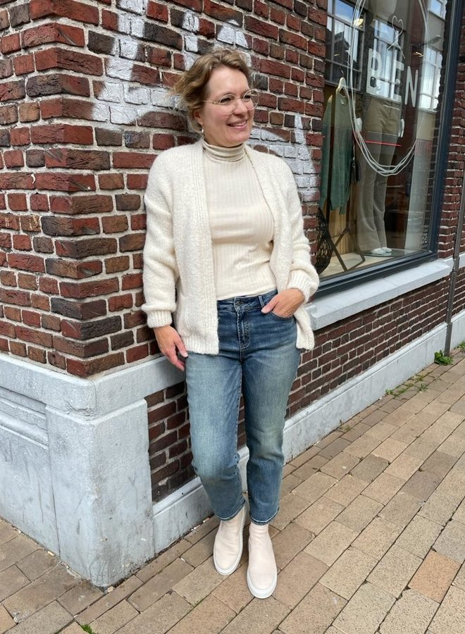 Knit-ted bernelle cardigan ivory
