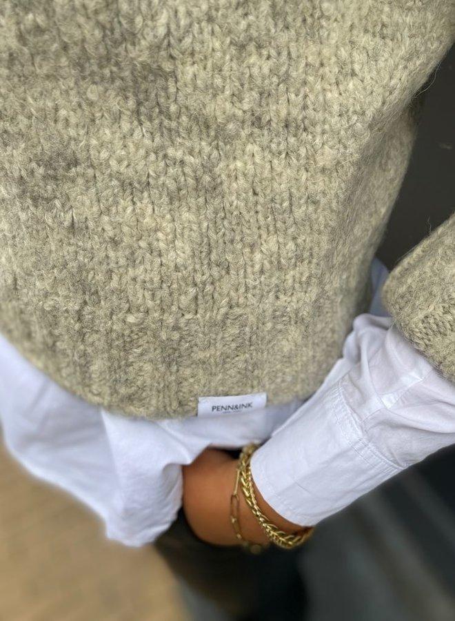 Penn&Ink pullover sand