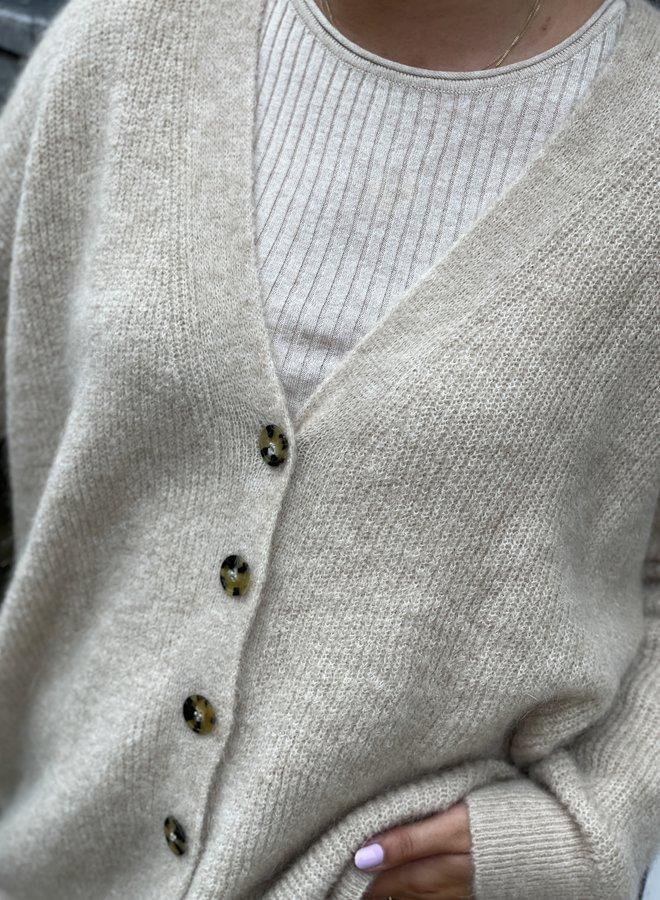 SF lydia knit rib birch