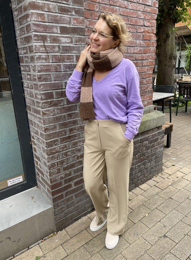 Second F. evie trousers chinchilla