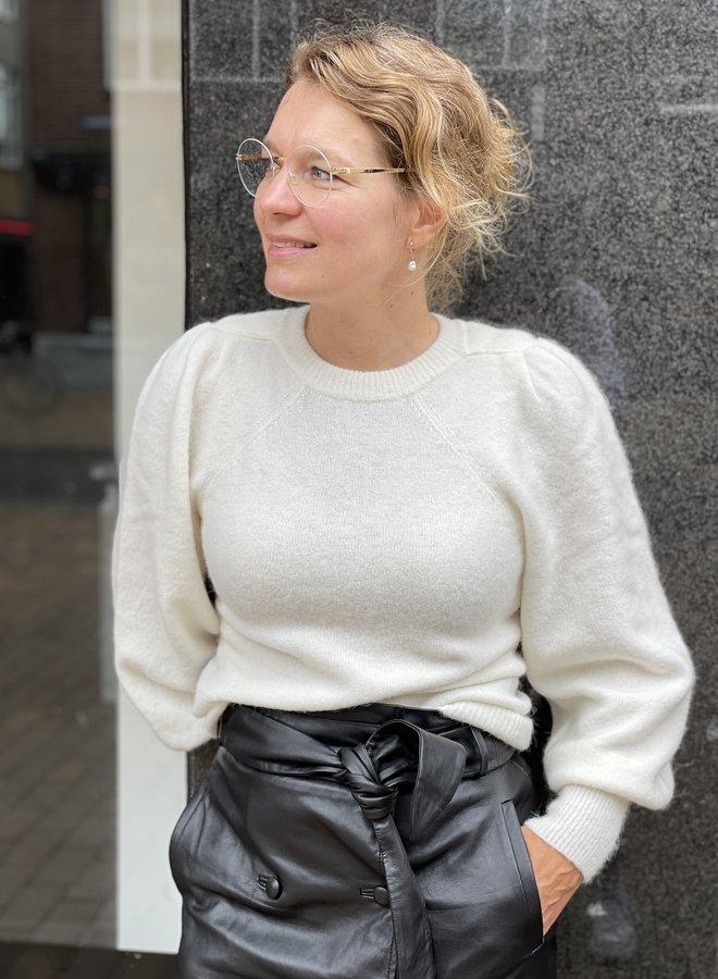 Second F. kalliroi knit trui off white