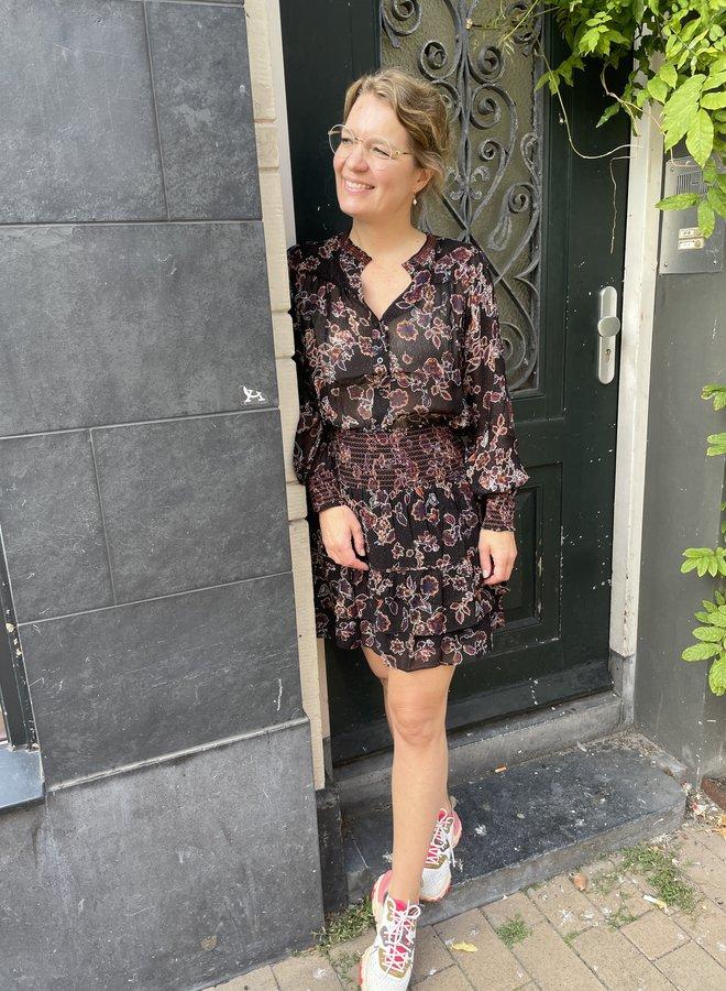 Second F. miao skirt black