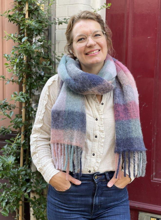 Becksöndergaard check anilopa scarf multi