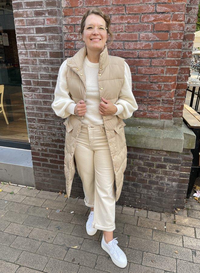 Moss kaysa waistcoat beige