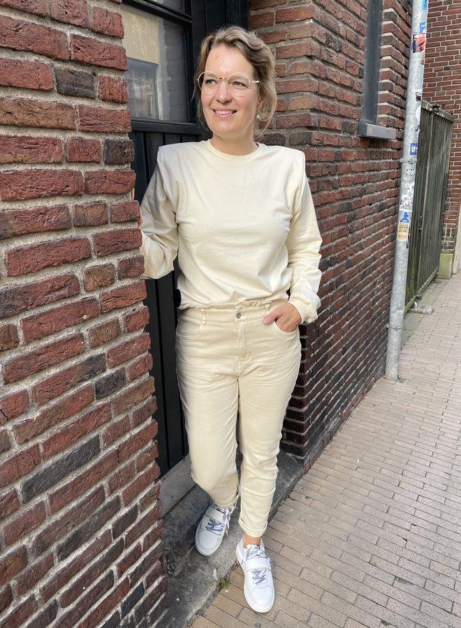 Circle kyana sweater white