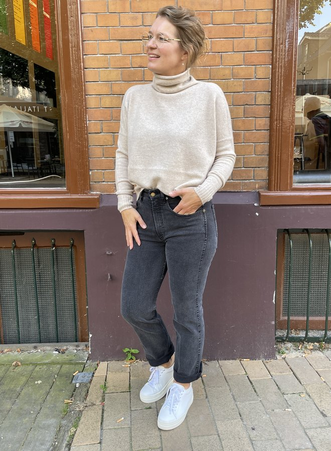 Knit-ted lois pullover sand