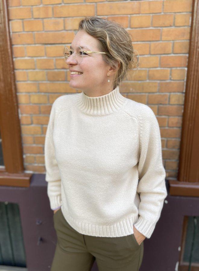 Knit-ted quinn pullover vanilla