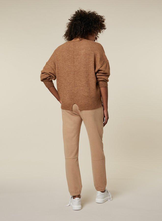 10DAYS v-neck sweater camel