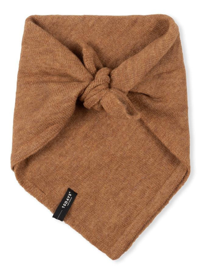 10DAYS knit bandana camel