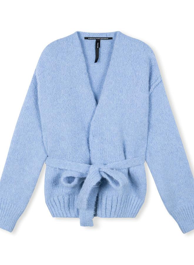 10DAYS short cardigan classic blue