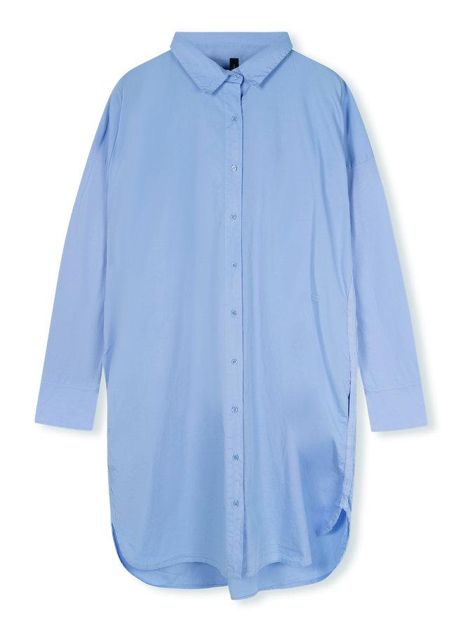 10DAYS shirt dress classic blue
