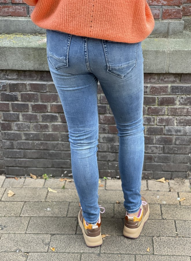 Circle pippa jeans whipped blue