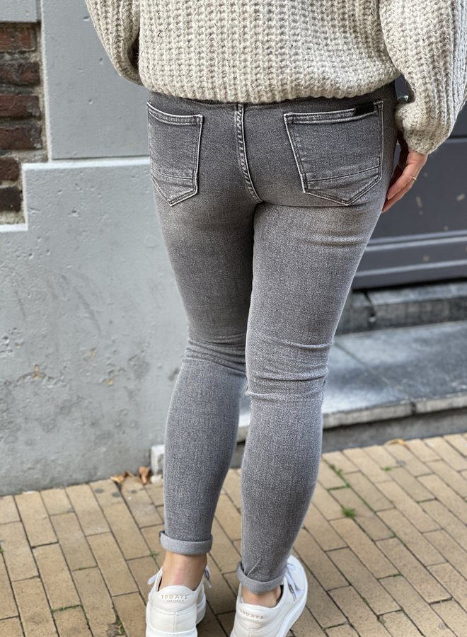 Circle cooper jeans stone grey