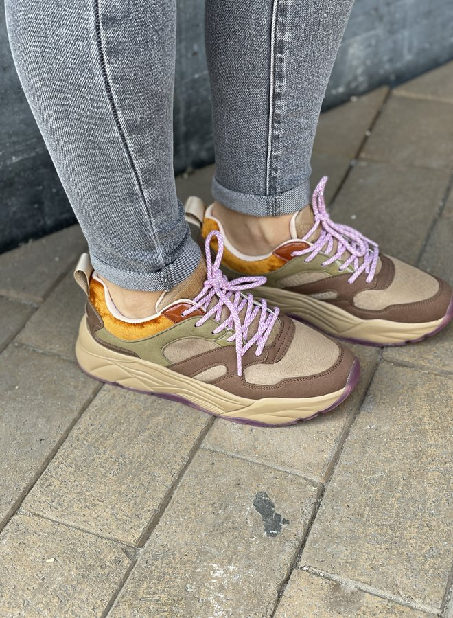 Scotch & Soda celest sneakers brown