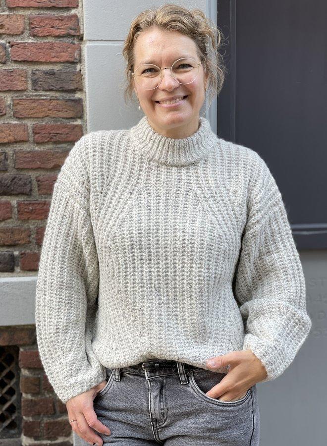 SF cara knit birch