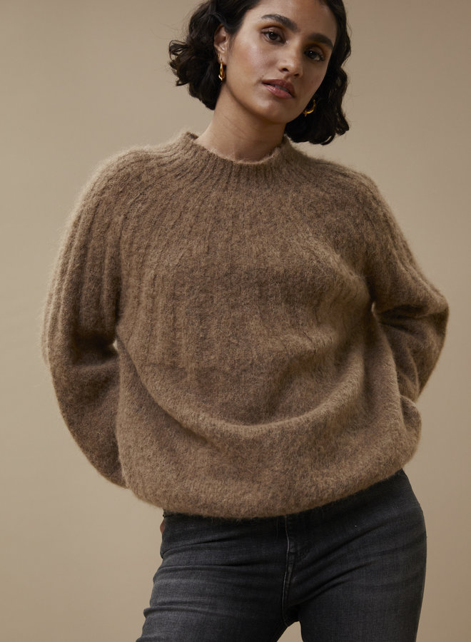 By Bar zoe pullover camel