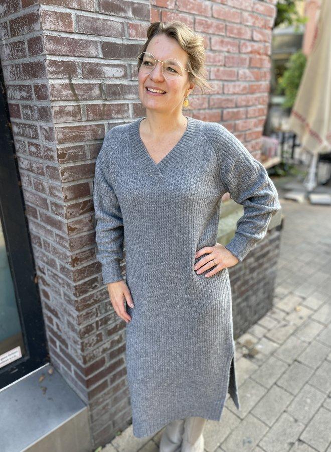 Circle macy dress grey