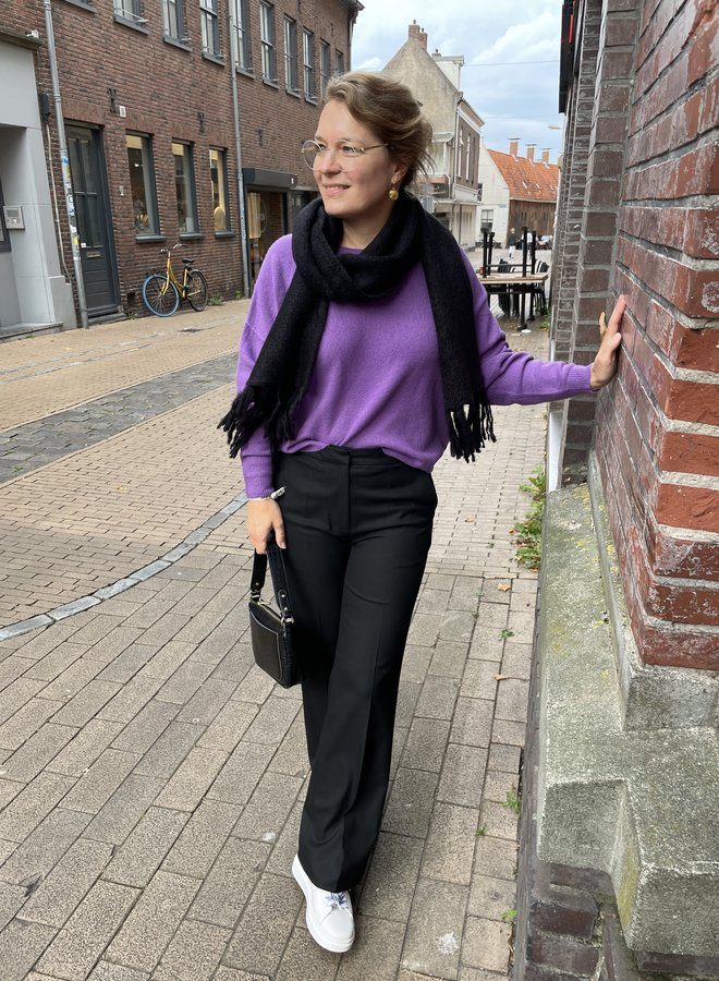 Second F. milica trousers black