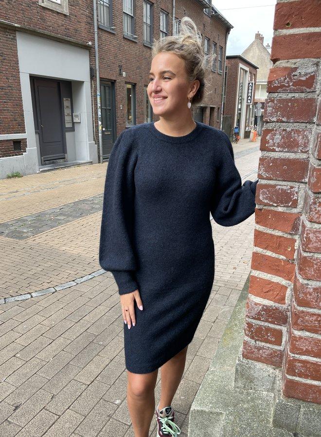 Second F. kalliroi knit dress blue