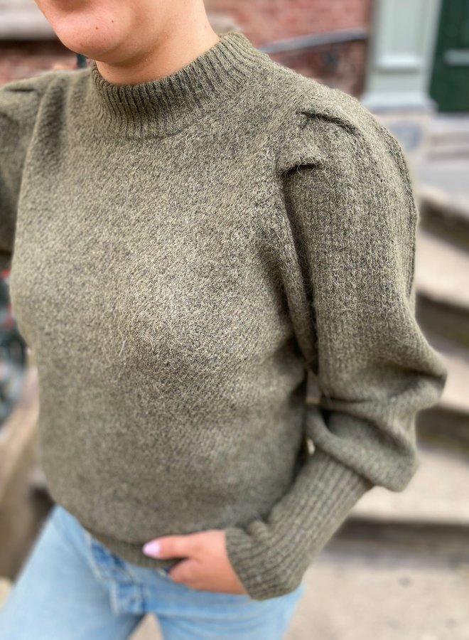 SF linna knit kalamata