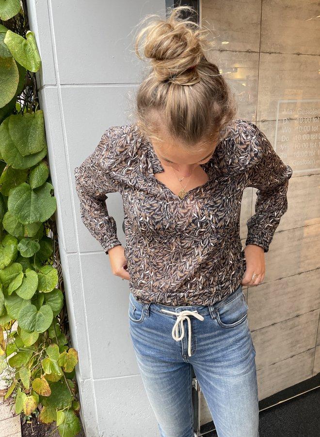 Circle ayla blouse delicate print