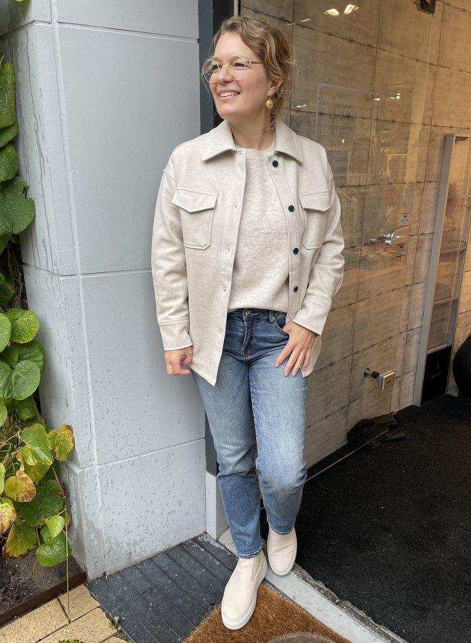 Yaya oversized jacket oak