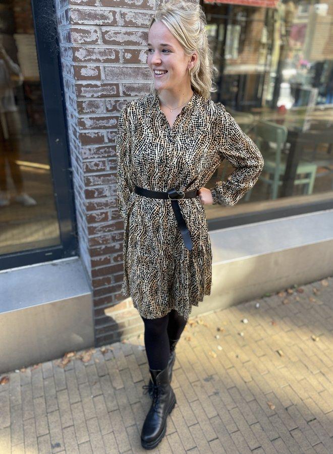 Second F. ambre dress black