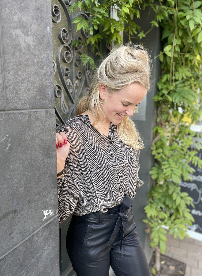 Second F. severine blouse cinder