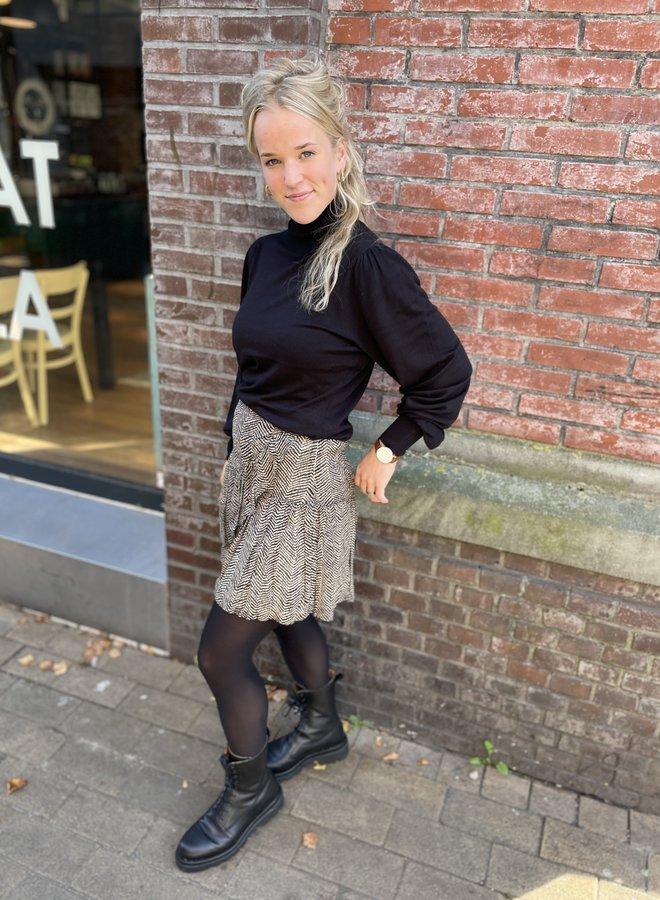 Second F. severine mini skirt cinder